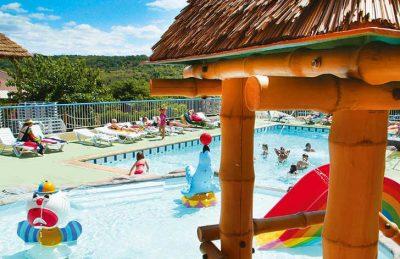 Camping le Petit Bois Pool Complex