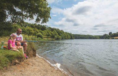 Camping Le Pin Parasol Fishing Lake