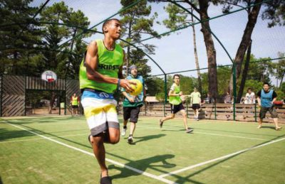 Camping le Signol Sports Court