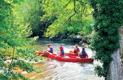 Camping Le Val de Bonnal Canoeing