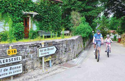 Camping Le Val de Bonnal Cycling