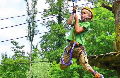 Camping Le Val de Bonnal Tree Top Adventure
