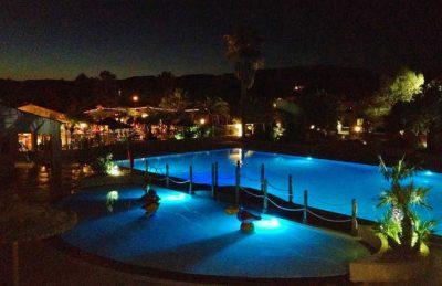 Camping lei Suves Pool Night