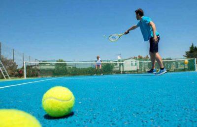 Camping Les Dunes de Contis Tennis