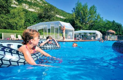 Camping les Fontaines Children's Pool