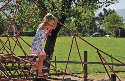 Camping les Fontaines Climbing Frame
