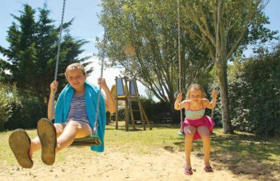 Camping Les Ilates Playground