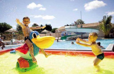 Camping les Peupliers Toddler Pool