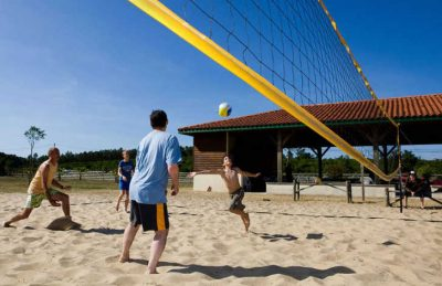 Camping les Vignes Beach Volleyball