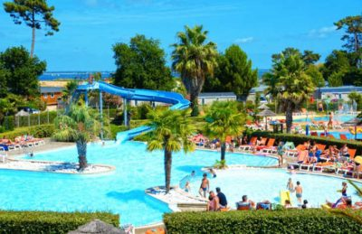 Camping les Viviers Swimming Pool Complex