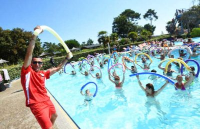 Camping les Viviers Pool Fitness