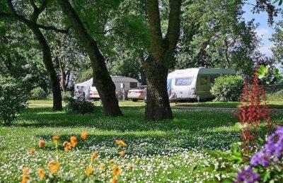 Camping L'Isle Verte Campsite Pitch