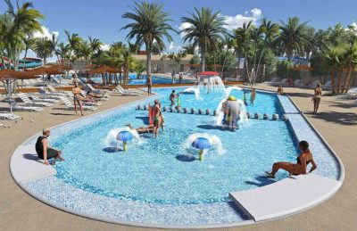Camping L'Oasis Family Swimming Pool