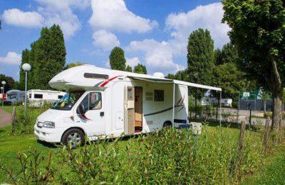 Camping Maisons Laffitte Motorhome Pitch