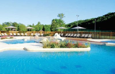 Camping Pomport Beach Swimming Pool