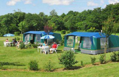 Camping RCN La Ferme du Latois Campsite Pitch