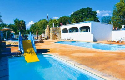 Camping Via Romana Pool Slide