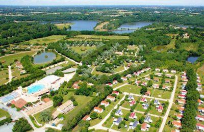 Camping Village de la Guyonniere Ariel Overview