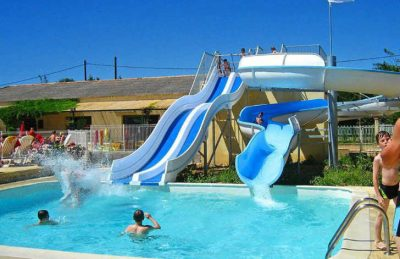 Campsite Bon Port Pool Slides