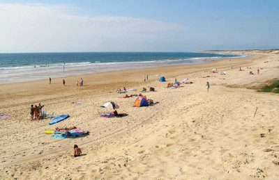 Campsite des Familles Beach