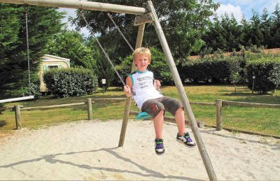 Campsite des Familles Children's Playground