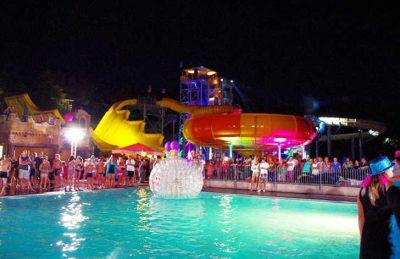 Campsite Domaine le Pommier Night Time Entertainment