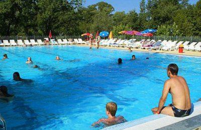 Campsite Domaine le Pommier Swimming Pool