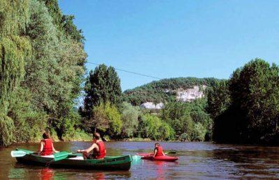 Campsite la Riviere Canoeing