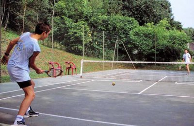 Campsite la Riviere Tennis