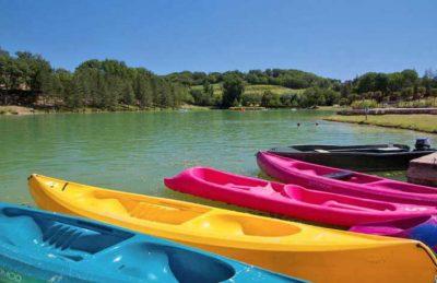 Campsite Lac des 3 Vallees Canoes