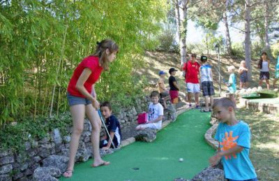 Campsite Lac des 3 Vallees Mini Golf