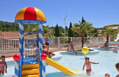 Campsite Lac des 3 Vallees Family Swimming Pool