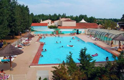 Campsite le Clos Virgile Swimming Pool