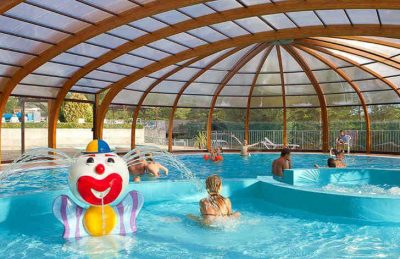 Campsite le Moulin Covered Children's Pool