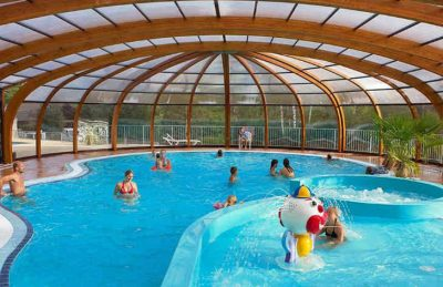 Campsite le Moulin Covered Pool