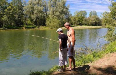 Campsite le Moulin Fishing