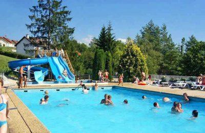 Campsite le Moulin Pool Slides