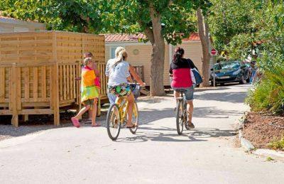 Campsite le Petit Mousse Cycling
