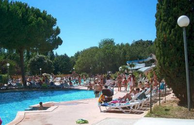 Campsite Le Plein Air de Chenes Swimming Pool