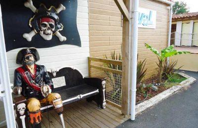 Campsite le Village Corsaire des Deux Plages Pirate