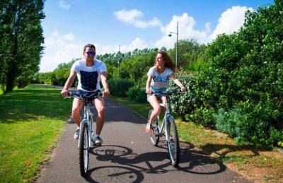 Campsite les Almadies Cycling
