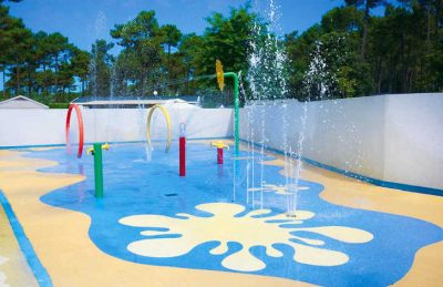 Campsite les Embruns Children's Water Fun