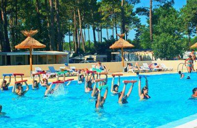Campsite les Embruns Pool Fitness
