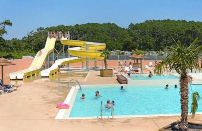Campsite les Oyats Pool Complex