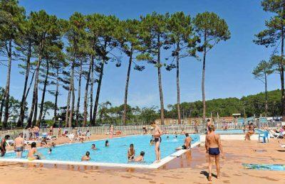 Campsite les Oyats Swimming Pool