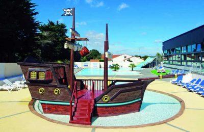 Camping L'Ocean Pirate Ship