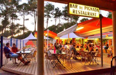 Campsite Lou Pignada Bar Restaurant