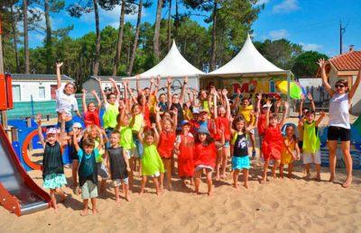 Campsite Lou Pignada Children's Activities
