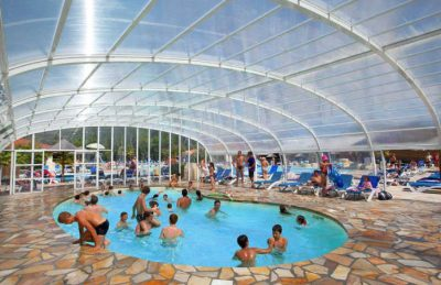 Campsite Mayotte Vacances Covered Pool