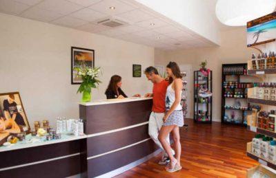 Campsite Mayotte Vacances Reception